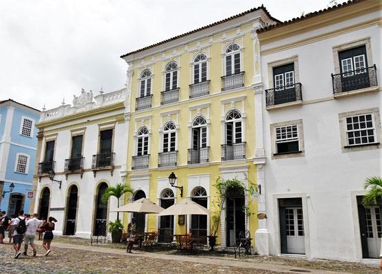 Das Hotel Villa Bahia.....