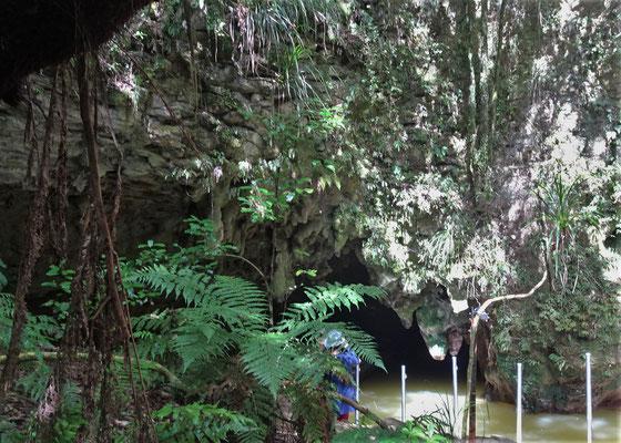 Der ursprüngliche Eingang.