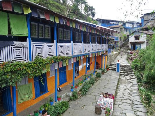 Unsere erste Unterkunft in Thirkhedunga