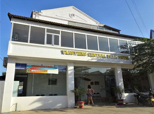 Unser Hotel in Vang Vieng.....