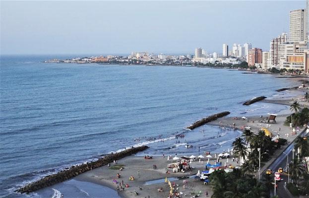 Der Strand von Cartagena.....