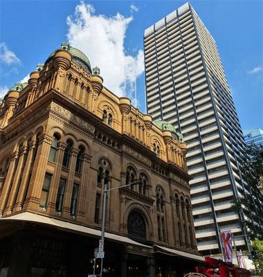 Das Queen Victoria Gebäude......