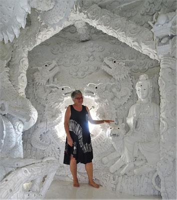 Im Kopf des Buddha.....