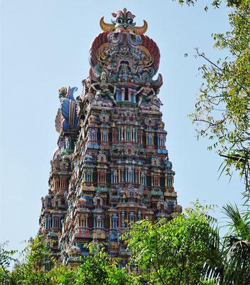 ....Minakshi Tempel mit den....