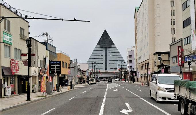 ....das dreieckförmige....