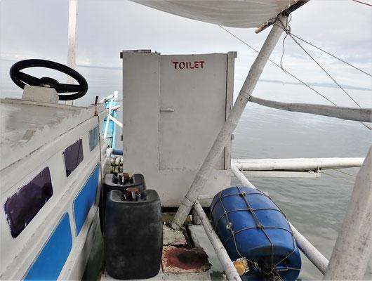 Auch eine Toilette gibt es 😉