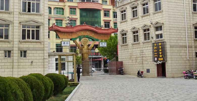 Unser Hotel in Tsedang