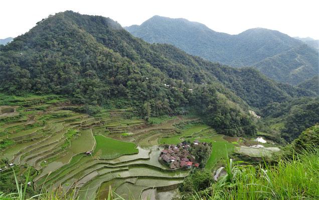 Das Dorf Bangaan......