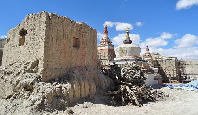 Die alten Stupas