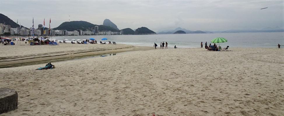 Der Strand der Copa......