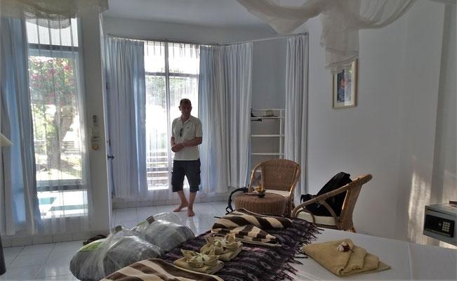 ....mit unserem schönen Zimmer.