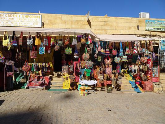 Der Taschenhändler...
