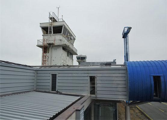 Der alte und der neue Tower.