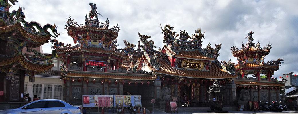 Ein grosser Tempel in Taitung.....