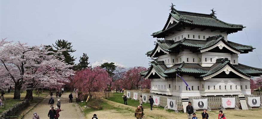 .....Burg Hirosaki....