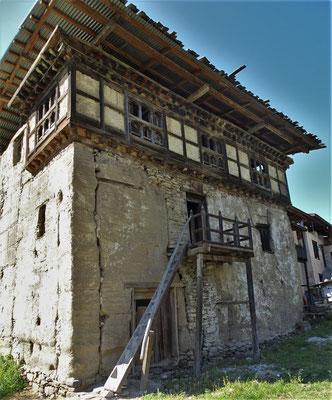 Das Bhutanische Romeo und Julia Haus