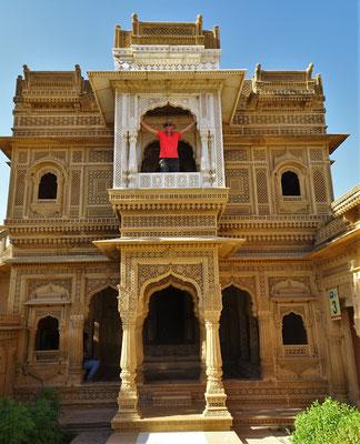 Der Jain Tempel....