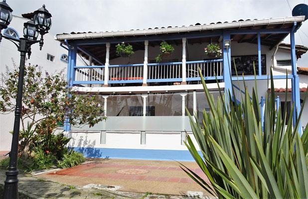 Das Hotel El Mirador del Cocora.....