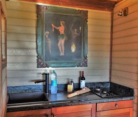 Die kleine Küche......