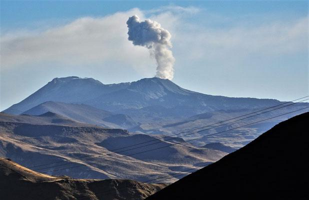 Der Vulkan Sabancaya.