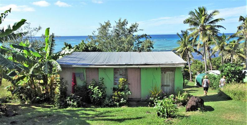 Einfache Hütten ohne Strom.....