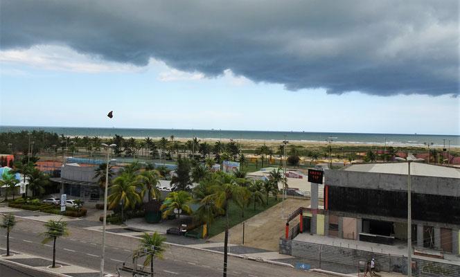 Wolken ziehen auf.