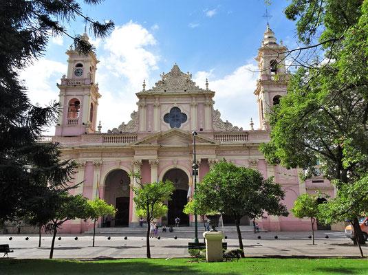Die Kathedrale von Salta.