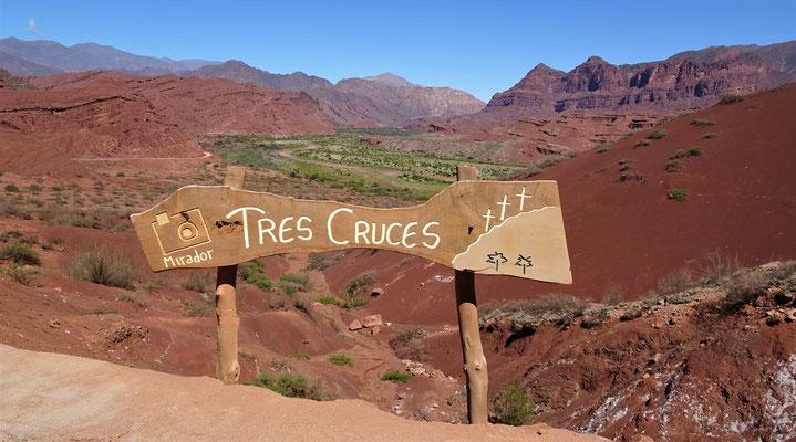 Der Ausblick von Tres Cruces......