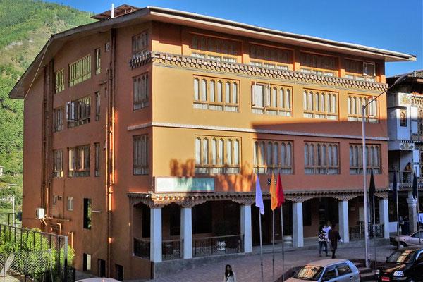 Unser Hotel Jumolhari in Thimphu