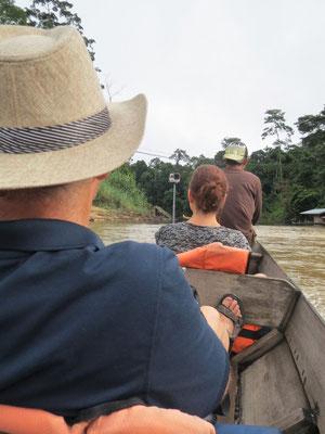 Die nächste Flussfahrt....