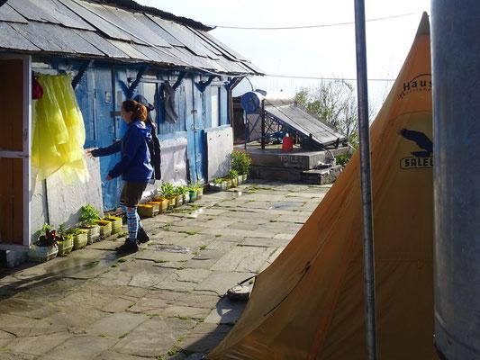 Unsere Unterkunft in Tarapani