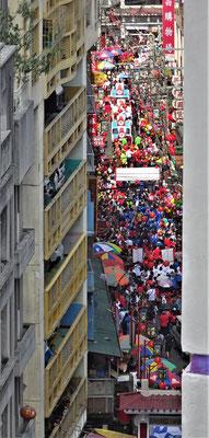 Die Menschenmengen......