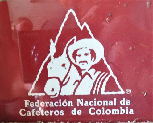 Das geschützte Kolumbianische Markenzeichen.