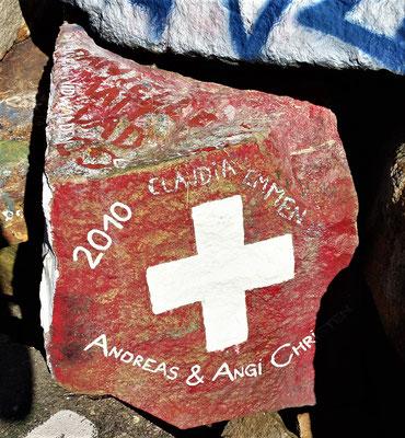 Auch Schweizer waren hier.....