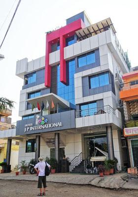 Unser Hotel J.P. International....