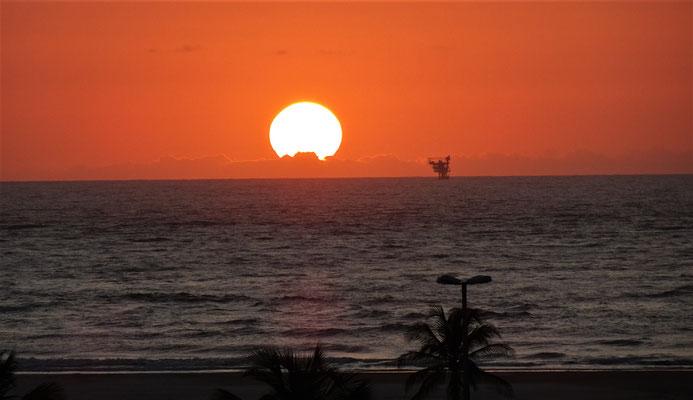 Sonnenaufgang in Aracaju.