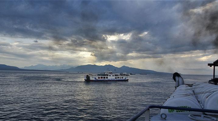 Die Überfahrt nach Bali.....