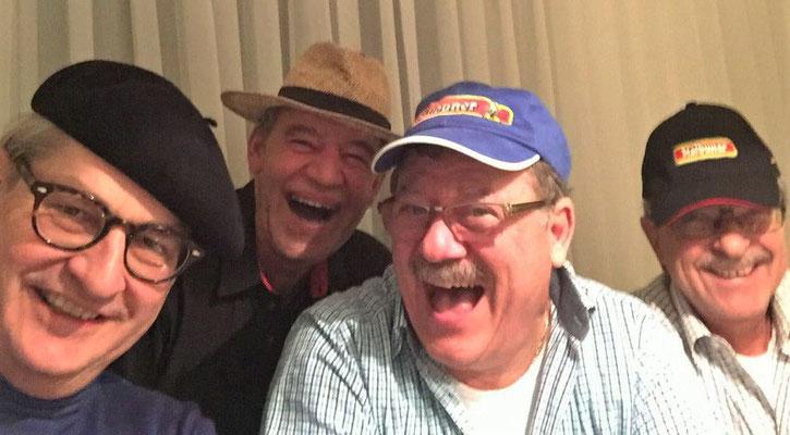 Die lustige Jassrunde mit Franz, Dani und Hans.