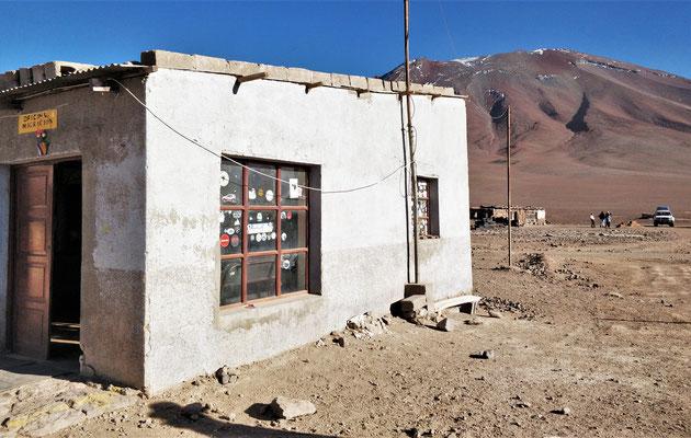 Die Bolivianische Grenze.