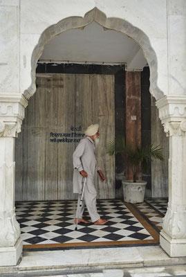 Ein Sikh bei..