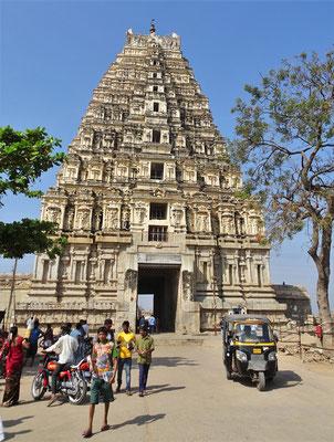Der Virupaksha von 1442 der noch...