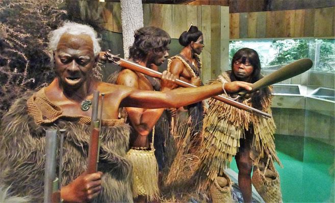 Auch die Maoris wurden.....