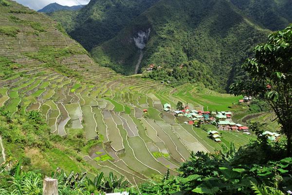 Das Dorf Batad.....