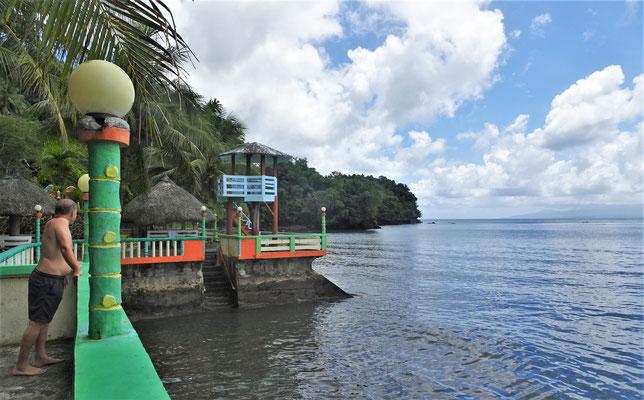 Das friedliche, kleine Resort in Santo Domingo.