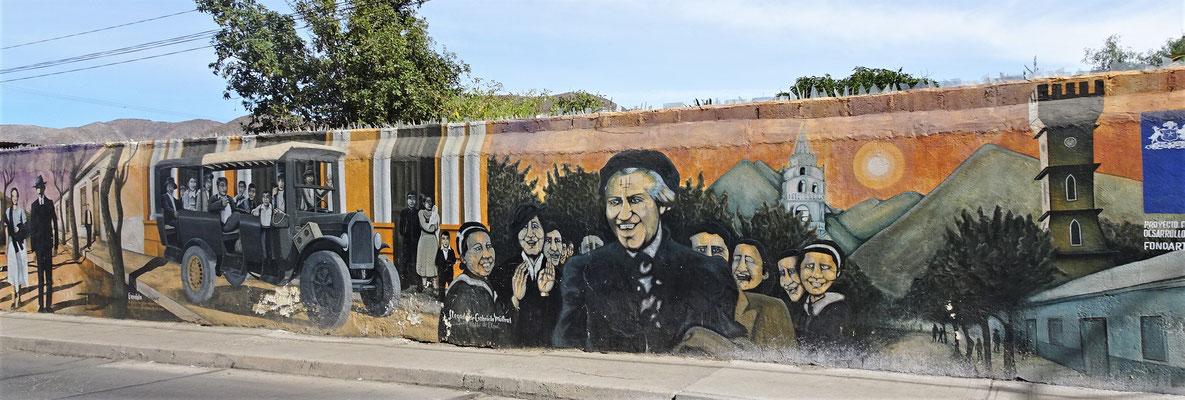 ......die Chilenische Nobelpreisträgerin......