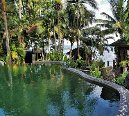 Der Meerwasser-Pool.