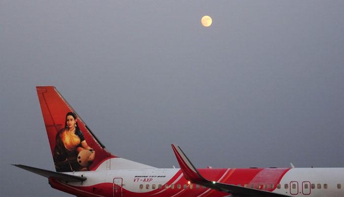 ...der Begrüssung vom Mond.