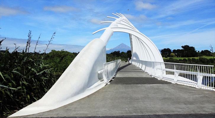 ....mit dem Mt. Taranaki und....