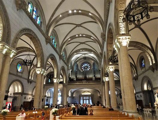 .....und der Orgel....