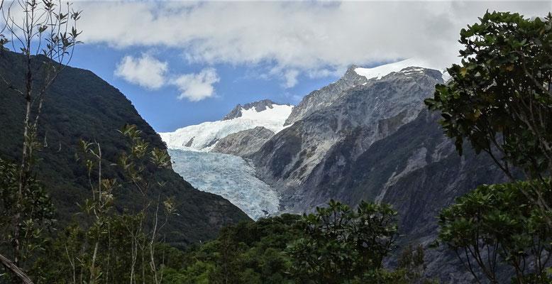 ....Wanderung zum Franz Josef Gletscher.